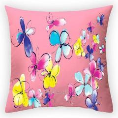 Design Summer of Cupid throw pillow, art.