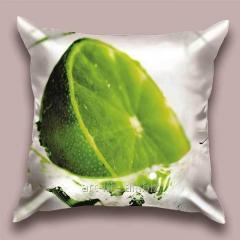 Design throw pillow of the Mojito, art.