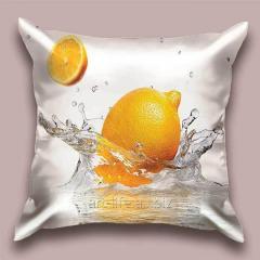 Design throw pillow Lemon Boole, art.