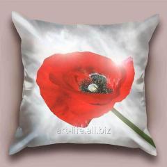 Design throw pillow Solar gift, art.