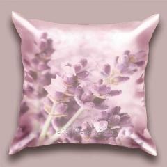 Design Lavender Branch throw pillow, art.
