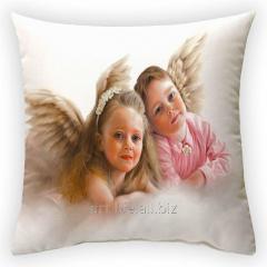 Design throw pillow Angels, art. 2Pd-14-50х50_g
