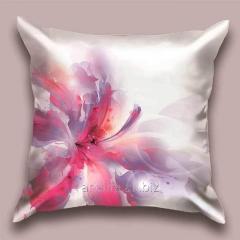 Design throw pillow Lilac haze, art.