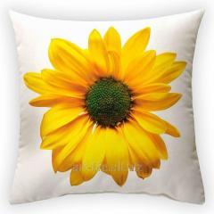 Design throw pillow Divine flower, art.