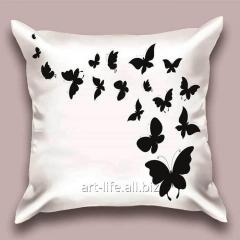 Design throw pillow of Nicole, art.