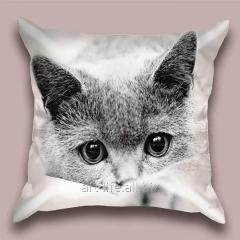 Design Art Snowflake throw pillow, art.