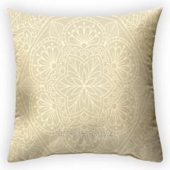 Design throw pillow Vanilla Odyssey, art.