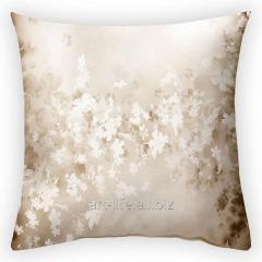 Design throw pillow Flower fog, art.
