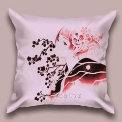 Design Geisha throw pillow 2, art. 1Pd-208-50х50_g