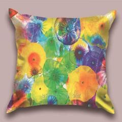 Design Kaleidoscope throw pillow, art.