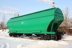 The car hopper for grain transportation