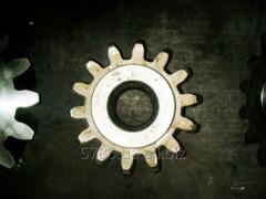 Drive gear wheel to the diffusive device KDA,