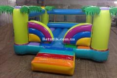 Inflatable trampoline 4 x 4 second-hand