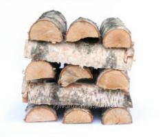 Birch the firewood laid (Dry firewood in Kiev)