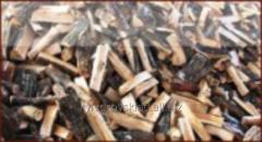 Firewood dry in boxes, Kiev region
