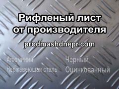 Рифленый лист с рисунком КВИНТЕТот производителя -