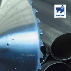 Blecher circular saws of industrial function with