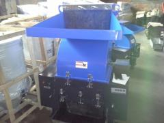 Crusher for LH-500 polymers