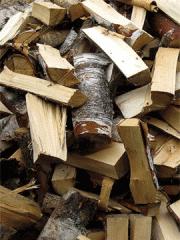 Massive firewood, Kiev region