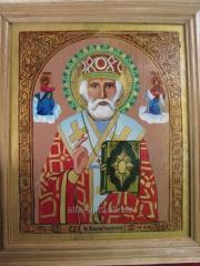 Icon Nicholas The Wonderworker
