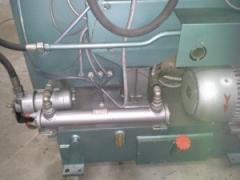 The heat exchanger on the automatic molding