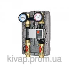 Pump group for solid propellant coppers and