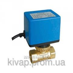 """Клапан 2-х зонный шаровый с приводом 220В BV03G2D25SAV220 1"""""""