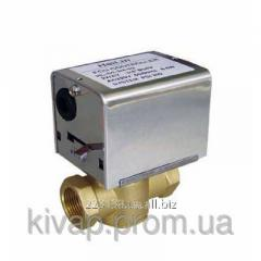 The valve of the 2nd zonal with the drive 220B