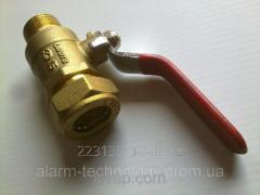 Кран шаровый для труб Gofraflex P*ML(C) 20*3/4 (папа)