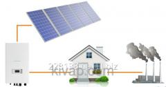 Network solar power plant of 10 kW