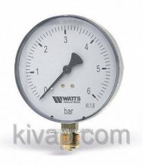 "Manometer 100, G1/2"", 0-10 Bars"