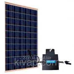 Modular network solar power station of 240 W