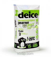 Средство для уборки льда DEICE MIX GREEN (15 кг)