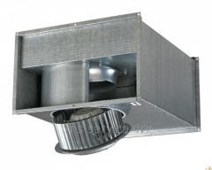 The fan for rectangular canals Vents of VKPF/VKPFI
