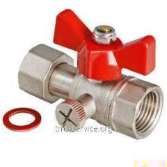 Кран шаровой для подключения манометра VT.807.N