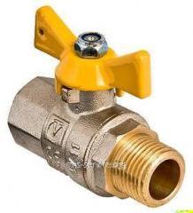 Кран газовый шаровой Valtec VALGAS VT.278.N ВН-НР 1/2 и 3/4
