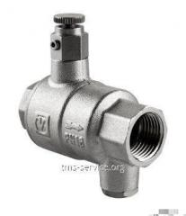 The backpressure valve with drenazhy and