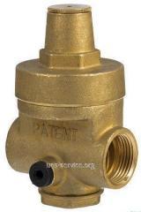 Piston reducer of pressure