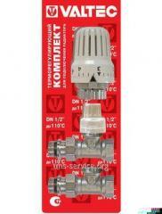 Комплект терморегулируюшего оборудования для радиатора прямой VT.046.N