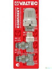 Комплект терморегулиующего оборудования для радиатора угловой VT.045.N