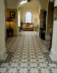Ceramic tile, marble, Aluminum shape