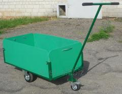 The cargo cart with quick-detachable boards and a