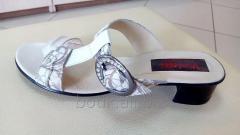 Bedroom-slippers female on a heel. Model 210