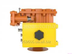 Control unit of spherical cranes (BUK-3) of the