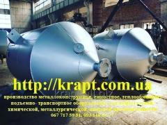 Ємності металеві для харчової промисловості