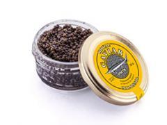 Sturgeon production. Black caviar.