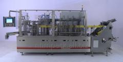 The packing automatic machine in packages doy-pak
