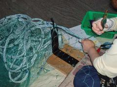 видео вязать рыболовную сеть
