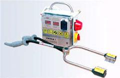 Device of prelethal electric devocalization STZ-2