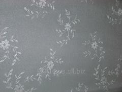 The jacquard fabric glued flizeliny